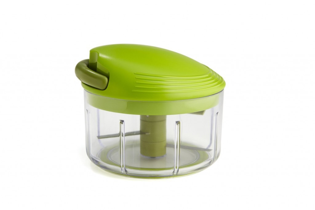 Best RV Kitchen Tools: Swiss Pull Chop Mini Food Processor Chopper