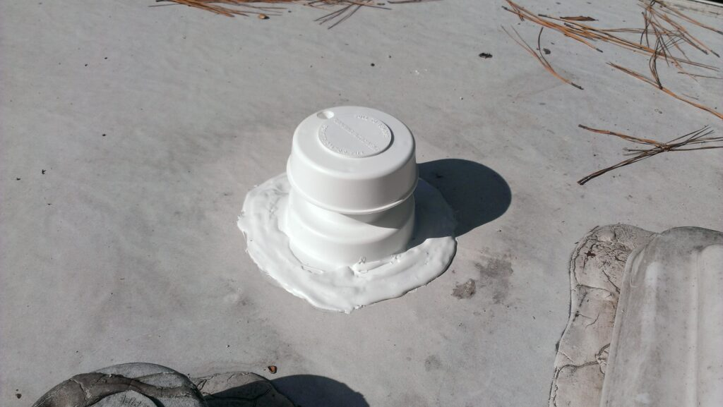 Replacing our camper sewer cap road work play for How to replace rv bathroom vent cover