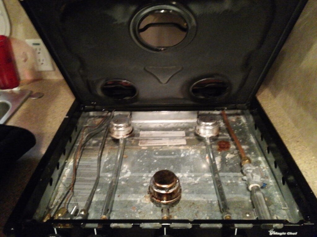 Replacing Our Magic Chef RV Oven Thermostat