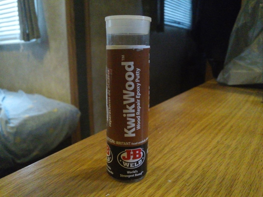 J-B Weld KwikWood Review for Camper Wood Repair