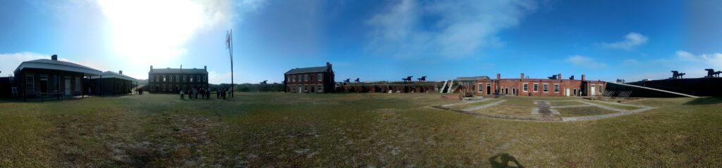 Fort Clinch on Amilia Island