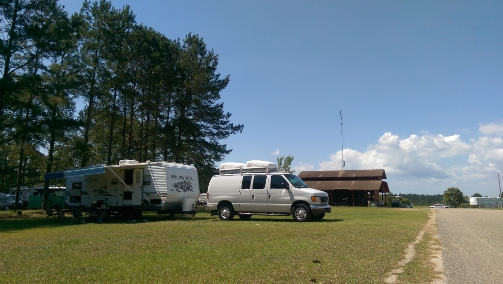 Dry Camping at Escapees Rainbow Plantation