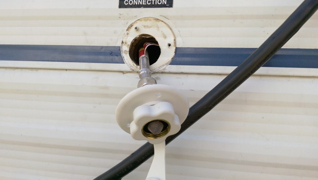 Replacing Your Rv City Water Connection Road Work Play