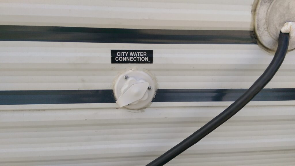 Replacing Your RV City Water Connection