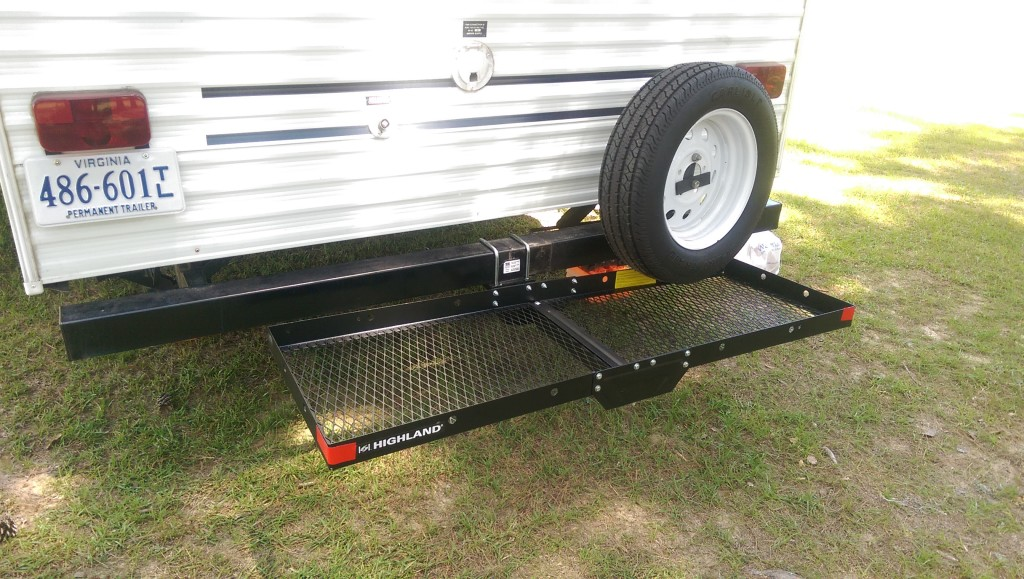Adding A Simple Hitch Receiver To Our Travel Trailer Rear Bumper Road Work Play
