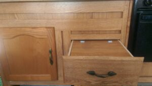 RV Drawer Modification to Add Drawer Covers