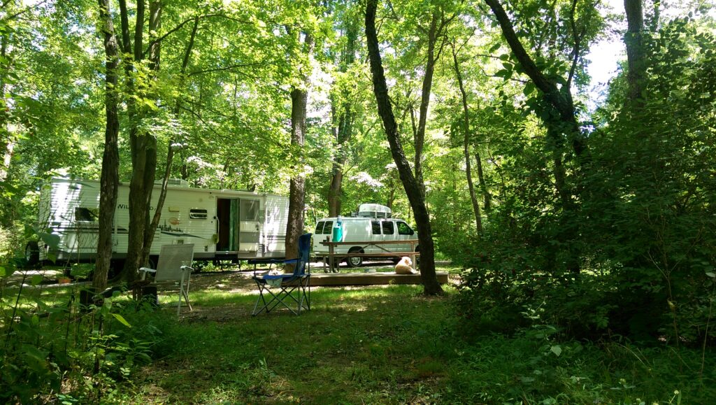 Our Pleasant Stay at Bush Campground