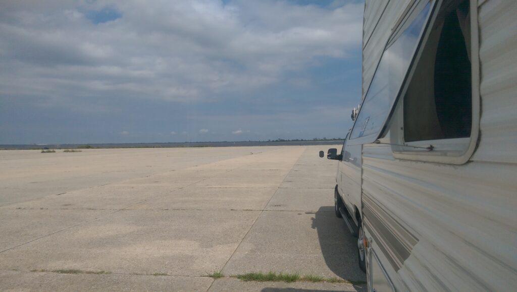 Floyd Bennett Field RV Campground. It's Walmart, but Worse.