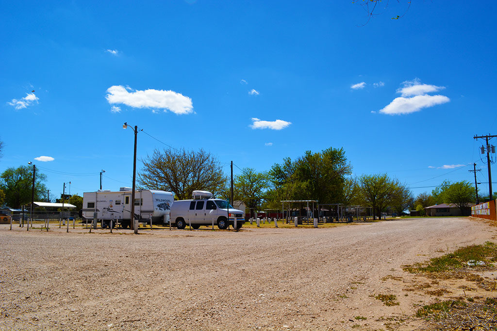 Waylon Jennings RV Park, Littlefield, Texas