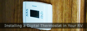 Installing a Digital Thermostat in an RV